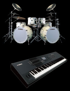 Samples were made of our premium acoustic drum kits as well as being borrowed from the world-class Motif XF synthesiser