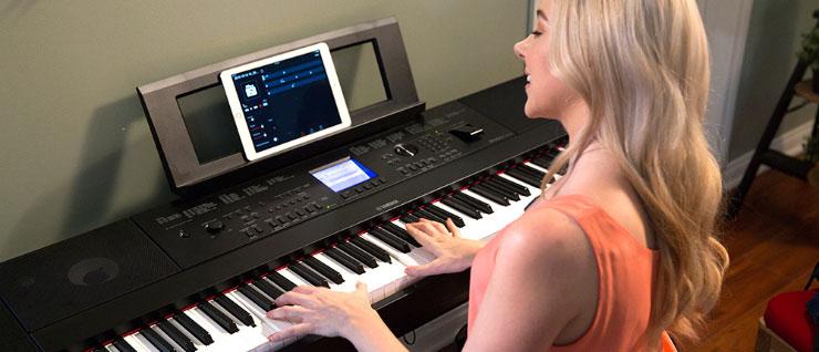 DGX-660 and iPad