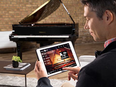 Using an Enspire Disklavier with an Apple iPad