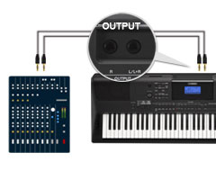 Pro-Style Left and Right Outputs