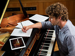 Easy integration between iPad and Disklavier Enspire Pro
