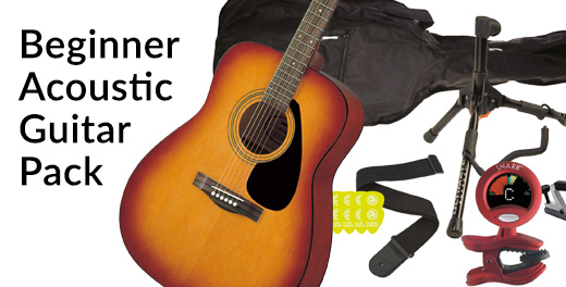 Beginner Acoustic Guitar Pack - Click here...
