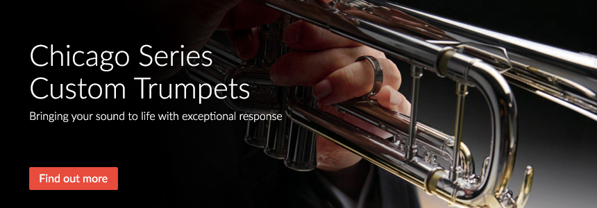 Yamaha Chicago Series Custom Trumpets - Bringing your sound to life with exceptional response