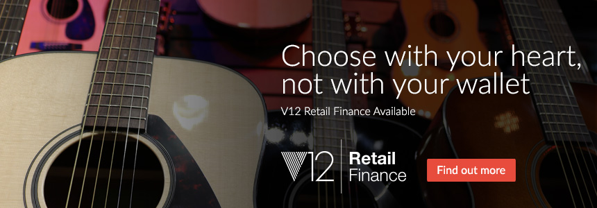 Choose with your heart - not with your wallet - V12 Retail Finance Available