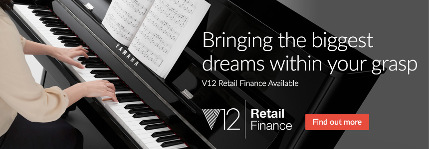 Bringing the biggest dreams within your grasp - V12 Retail Finance Available
