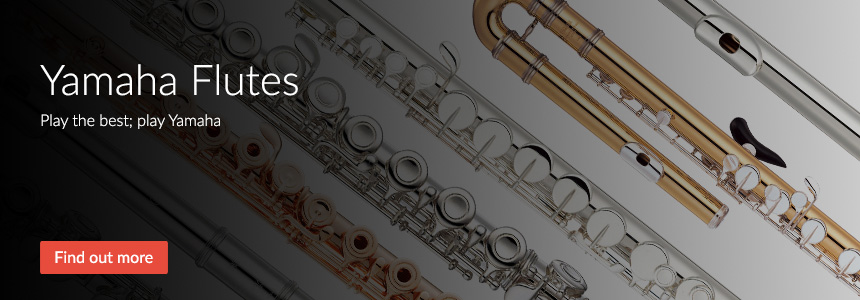 Yamaha Flutes - Play the best, play Yamaha