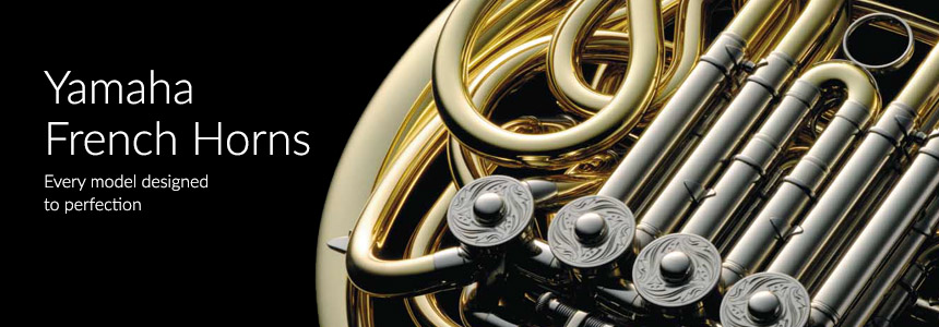Yamaha French Horns - Every model designed to perfection
