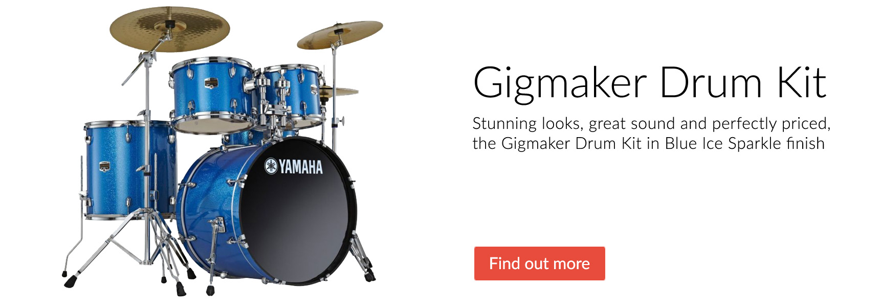 Yamaha Gigmaker Drum Kits for Beginners