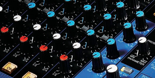 Close up of MG Series Mixer