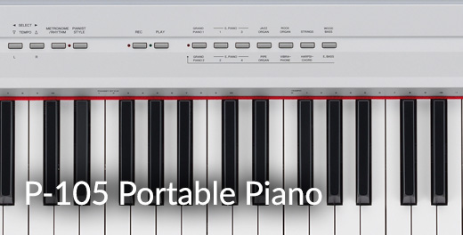 P-105 Portable Piano - Click here...