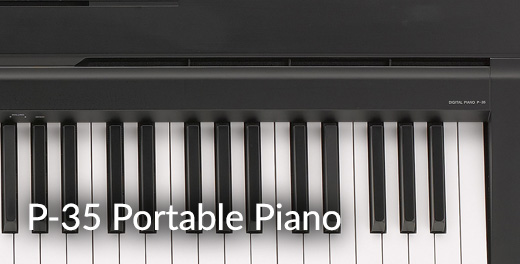 P-35B Portable Piano - Click here..