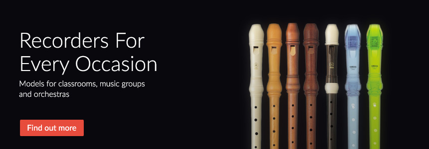 Recorders for every occasion - models for classrooms, music groups and orchestras