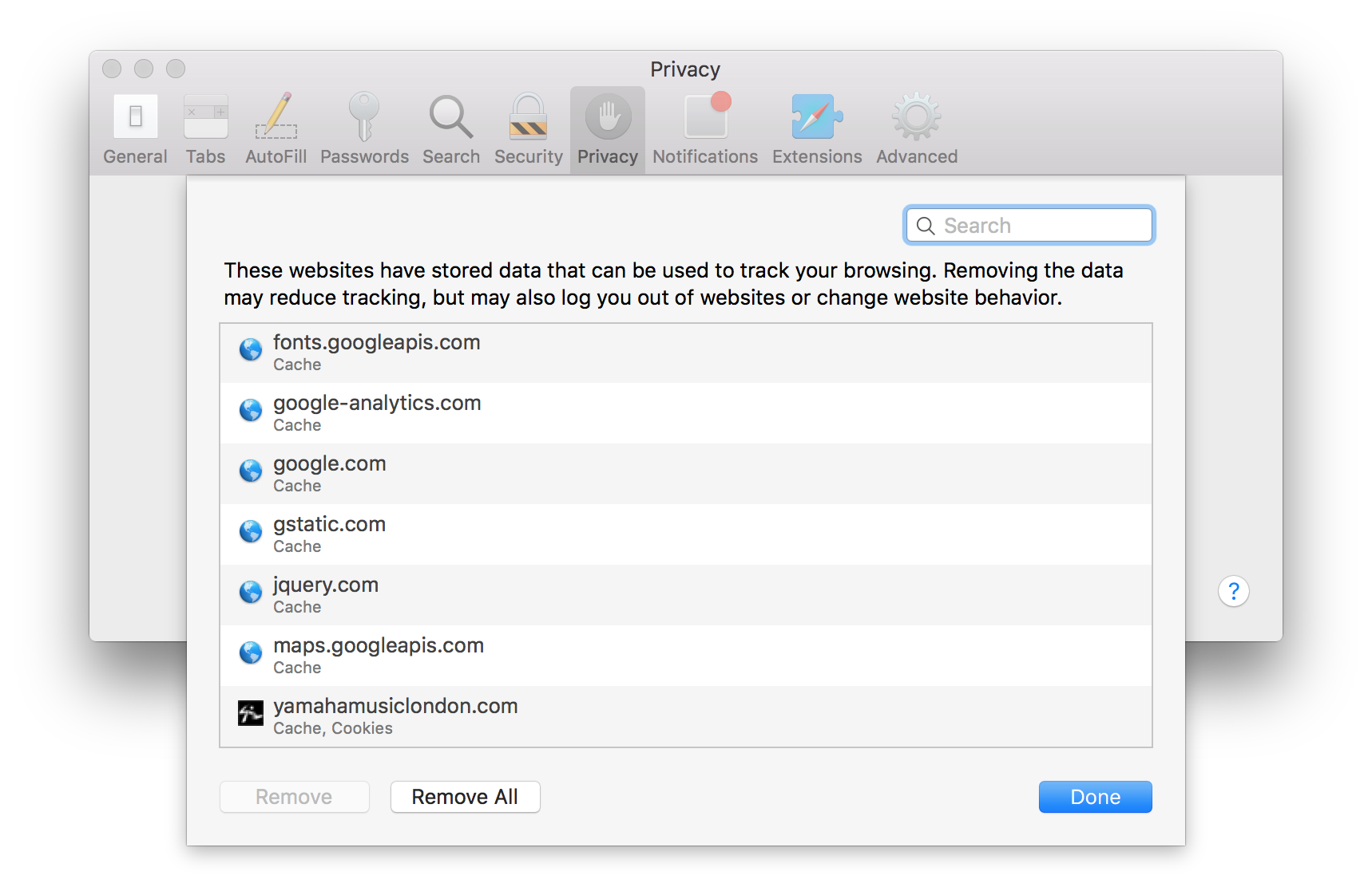 Cookie List In Safari How To Disable Or Enable