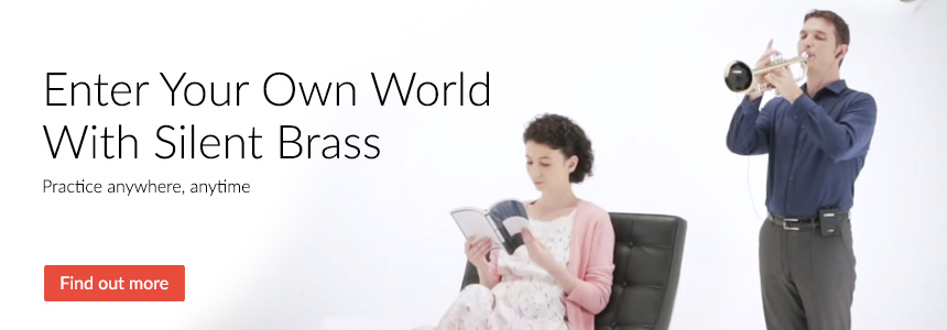 Enter your own world with Yamaha Silent Brass