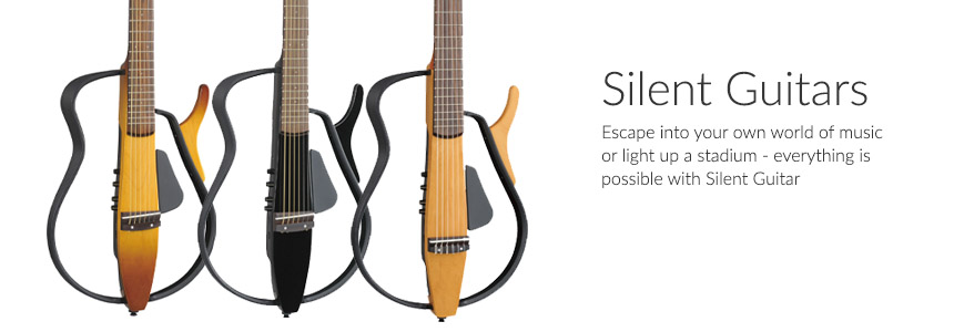 Silent Guitars - Escape to your own world of music or light up a stadium - everything is possible