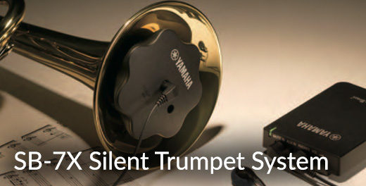 Yamaha SB-7X Silent Trumpet System - Click here...