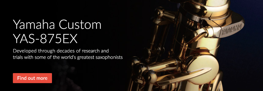 Yamaha Custom YAS-875EX - Developed through decades of research and trials with some of the world's greatest saxophonists
