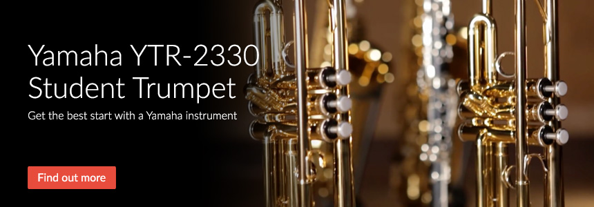 Yamaha YTR-2330 Student Trumpet - Get the best start with a Yamaha instrument