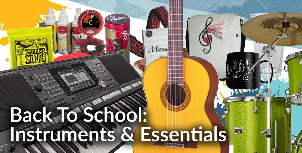 Back To School Instruments & Taster Sessions
