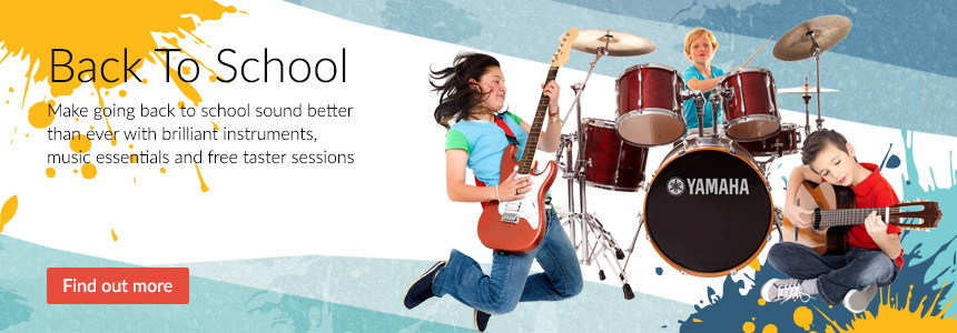 Back To School - Instruments, Music Essentials and free taster sessions