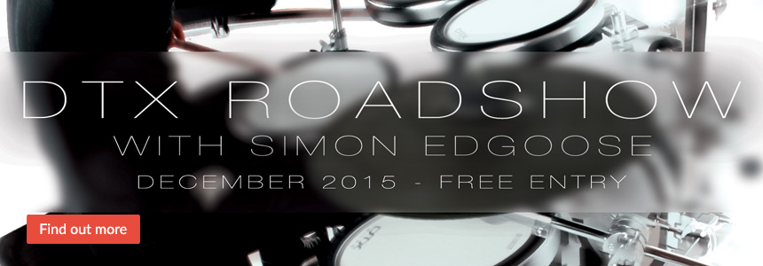 DTX Roadshow with Simon Edgoose - December 2015 - Click here...
