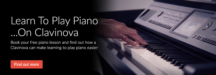 Learn To Play Piano on Clavinova - Free Lessons, click here to book yours
