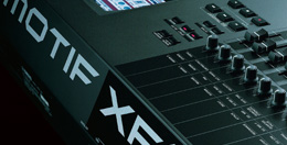 Close up of Motif XF