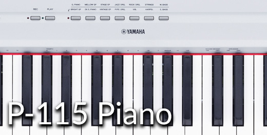 P-115 Portable Piano - Click here...