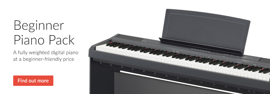 Yamaha P-115 Digital Piano Pack For Beginners