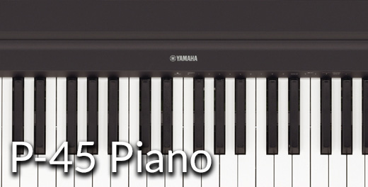 P-45B Portable Piano - Click here..