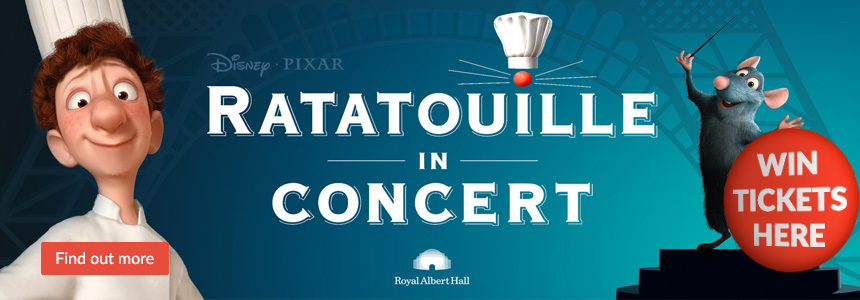 Ratatouille in Concert - Win tickets here! Click here...