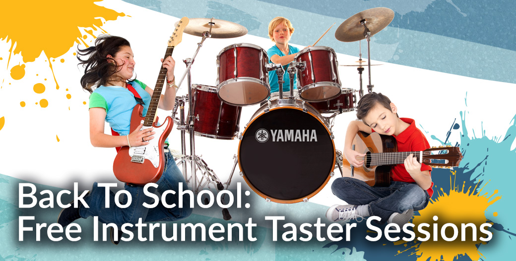 Back To School: Free Instrument Taster Sessions