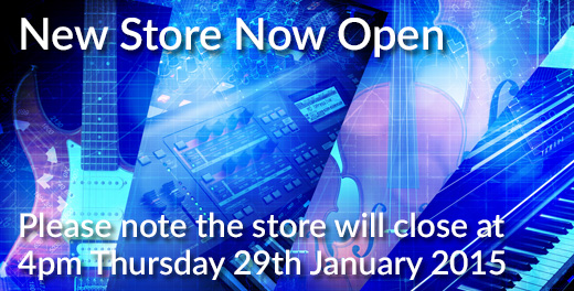 New Store Open - Please note we'll be closing at 4pm Thursday 29th January 2015 - Click here...