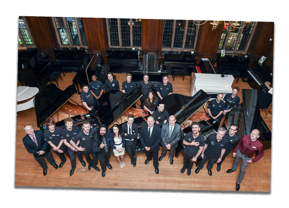 The Yamaha Music London team