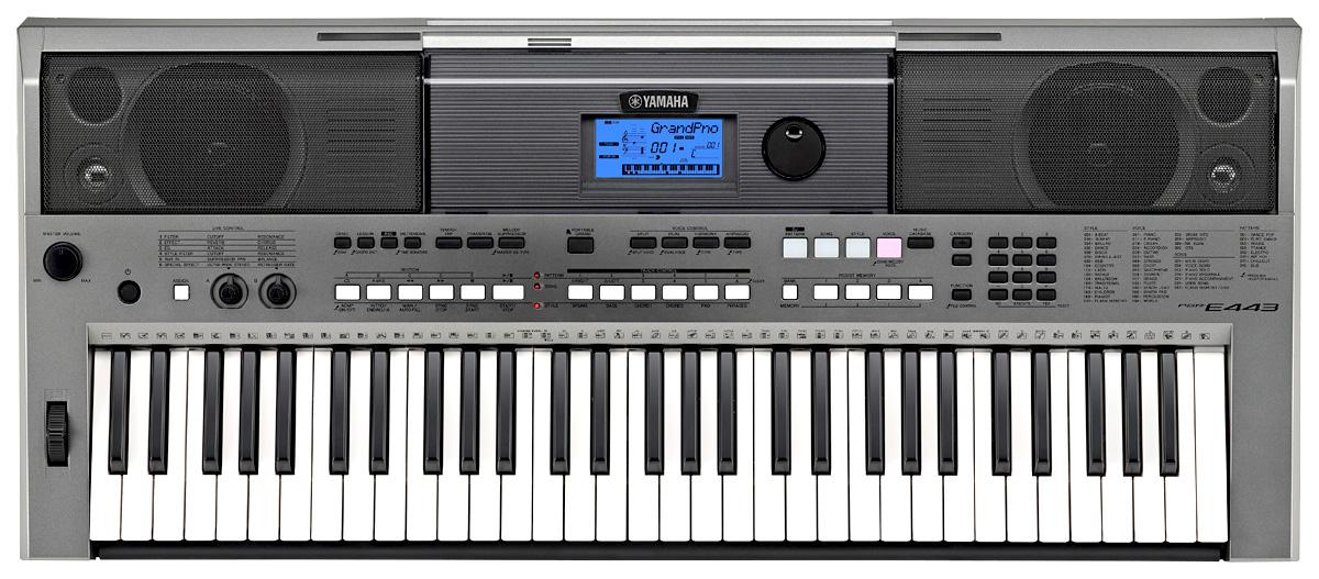 Yamaha psr e443 touch sensitive portable keyboard yamaha for Yamaha psr 410 keyboard