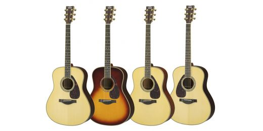 All Yamaha Acoustic Guitars