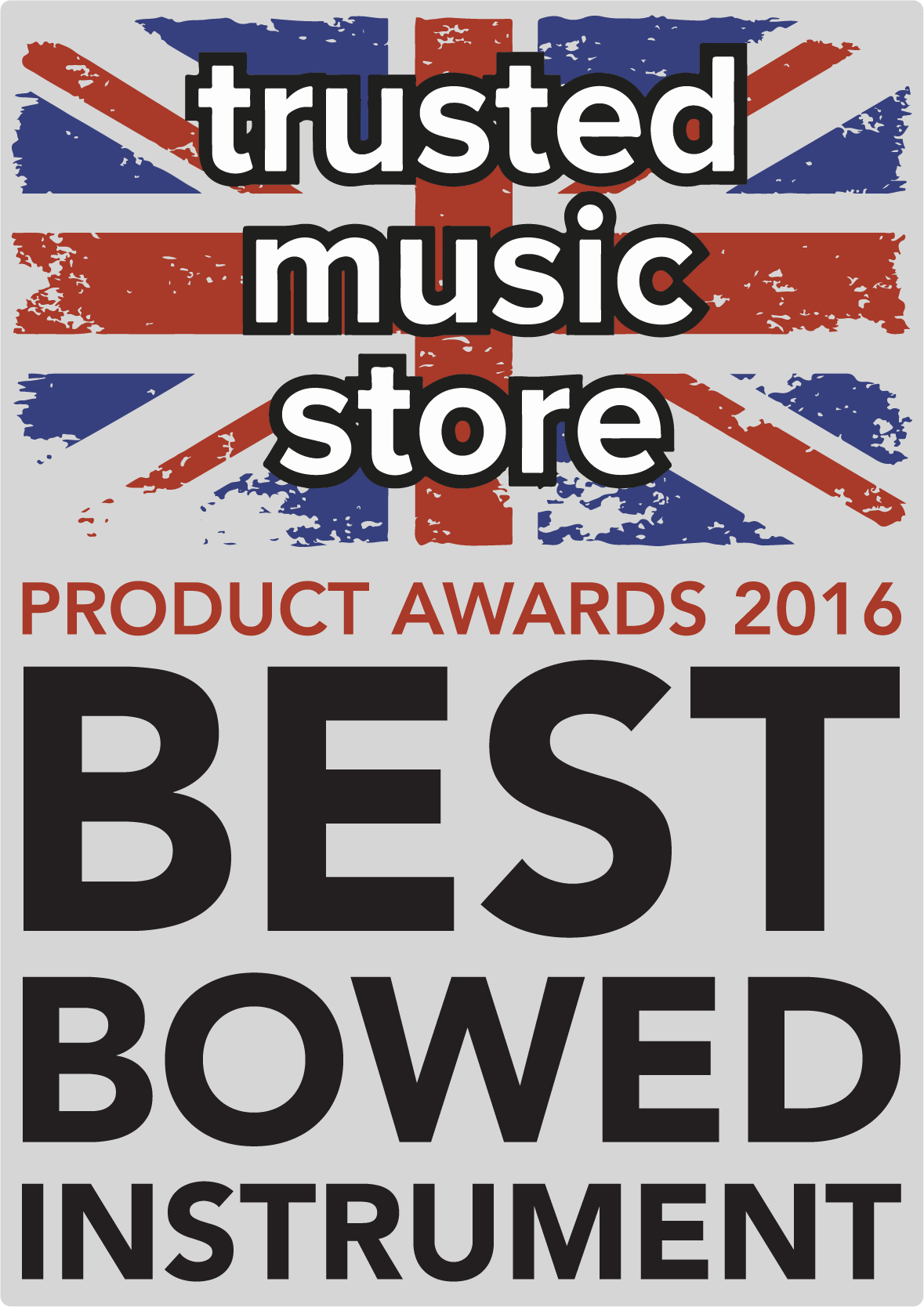 Trusted Music Store Award for Best Bowed Instrument