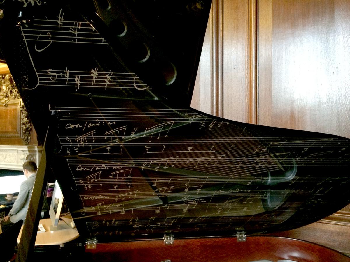 B 246 Sendorfer Beethoven Model 200 Grand Piano In Unique