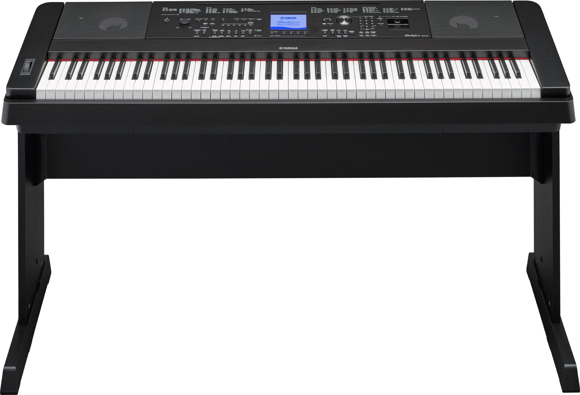 yamaha dgx 660 digital piano in black finish with stand yamaha music london