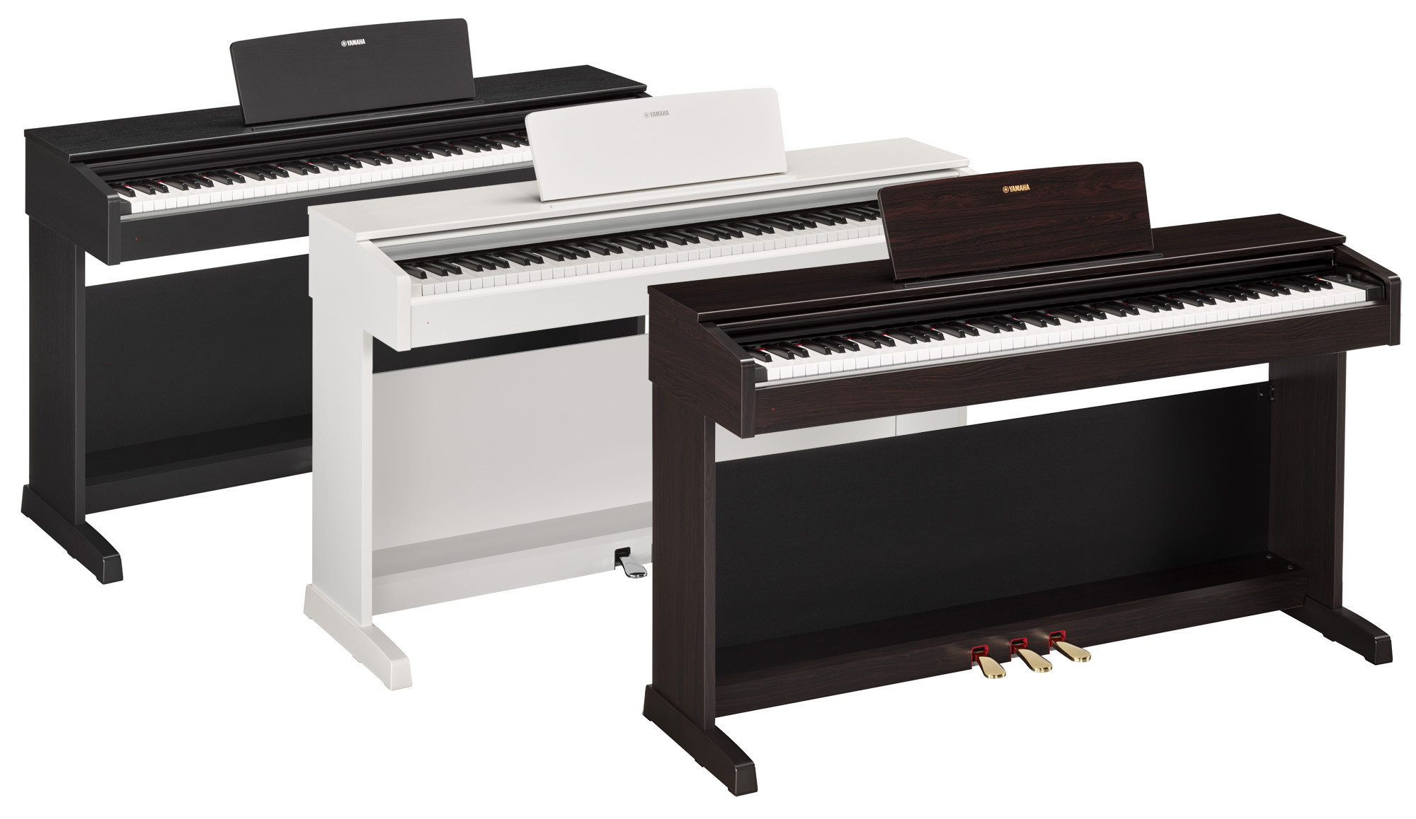 Yamaha ydp 143 arius digital piano various finishes for White yamaha piano