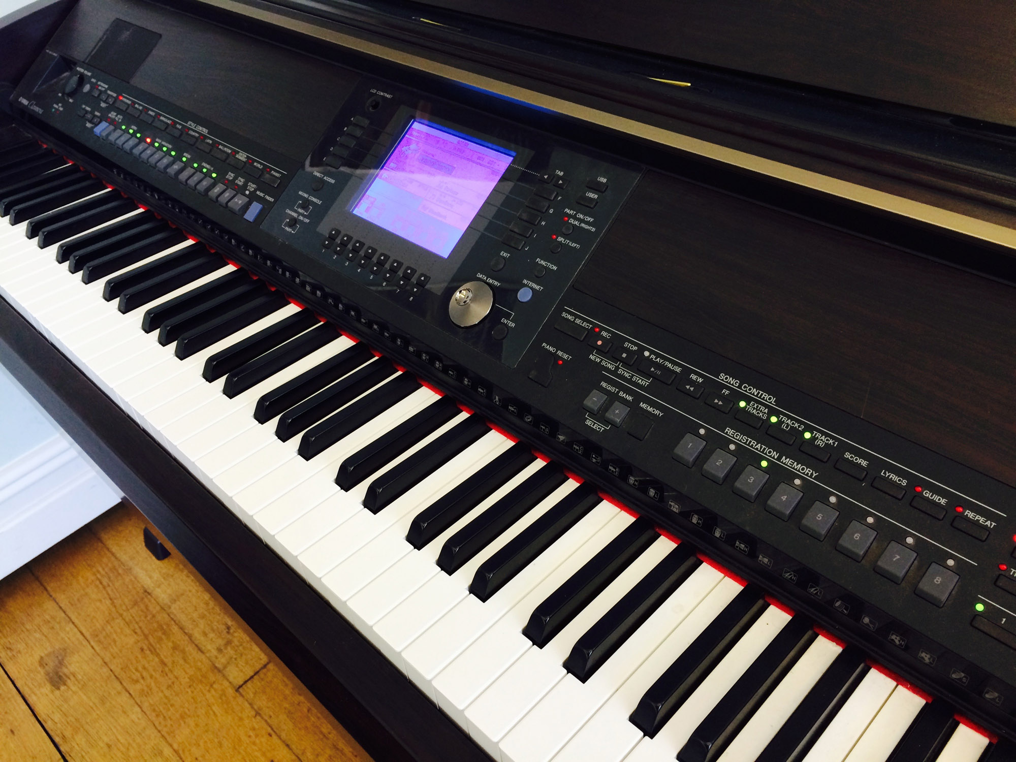 yamaha pre owned yamaha cvp 403 clavinova digital piano in