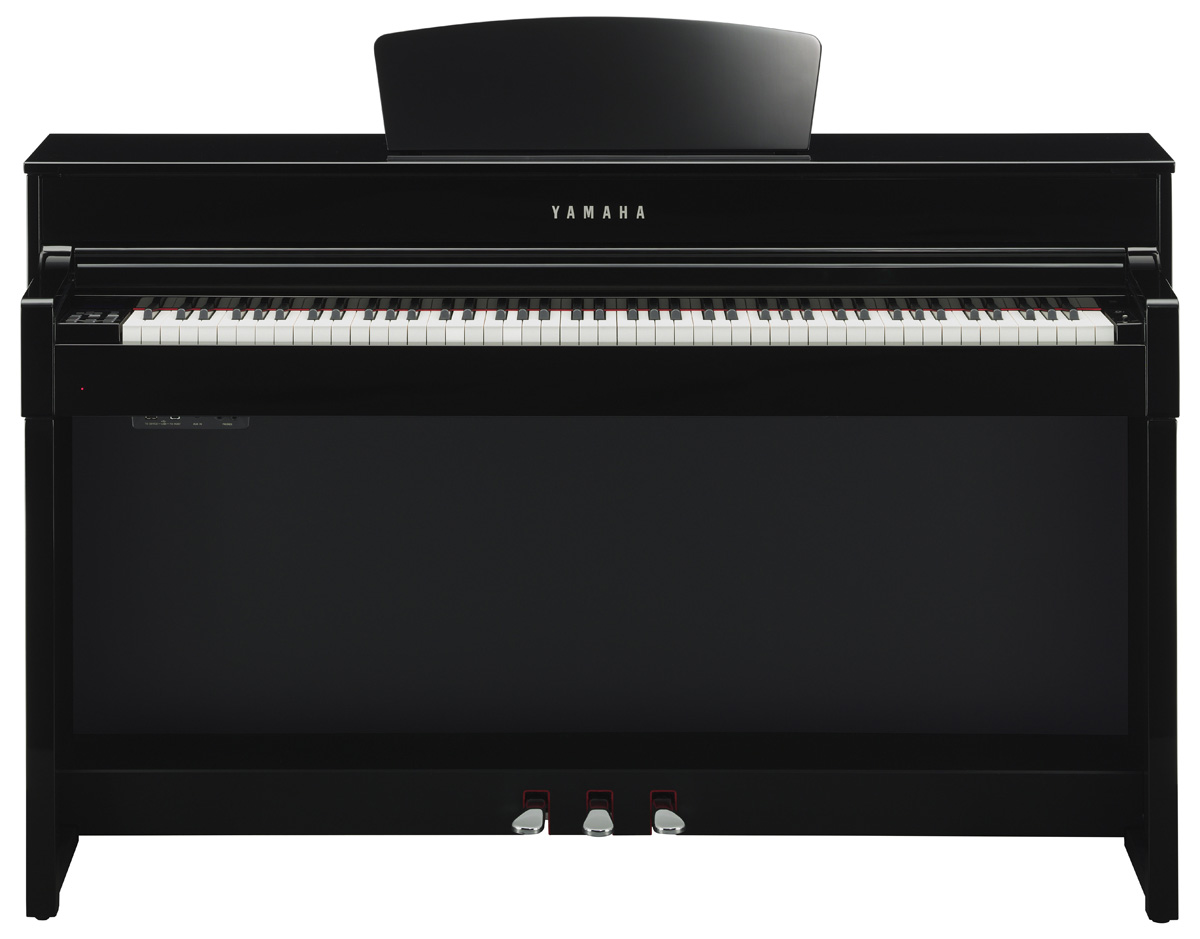 yamaha clp 535 clavinova digital piano in polished ebony