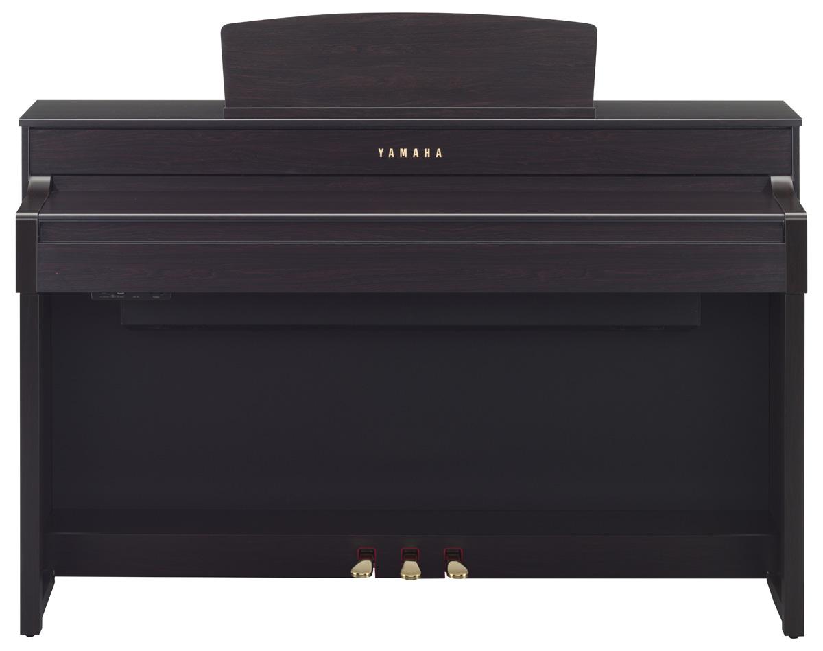 yamaha clp 575 clavinova digital piano in dark rosewood. Black Bedroom Furniture Sets. Home Design Ideas
