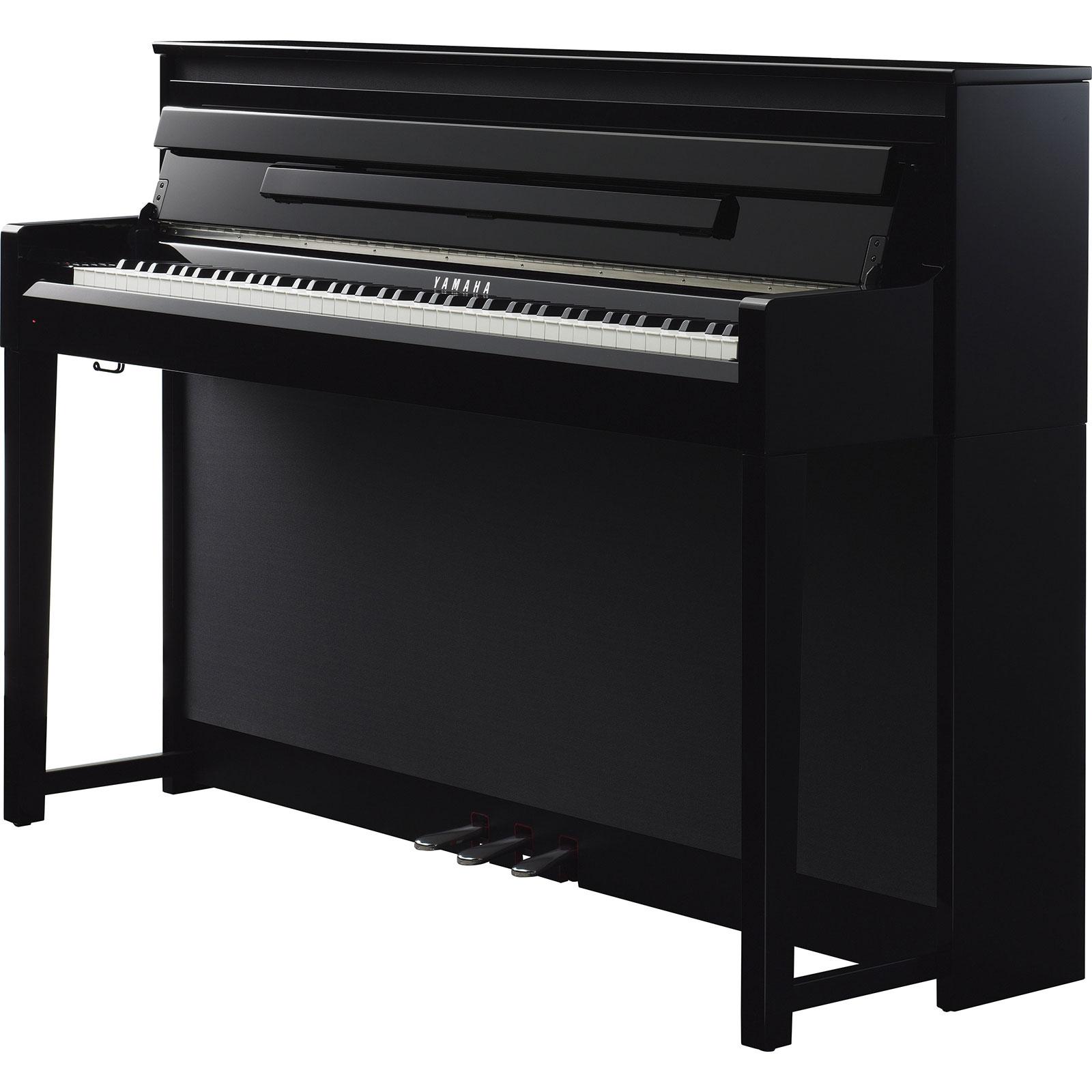 Yamaha clp 585 clavinova digital pianos various finishes for Yamaha digital piano clavinova