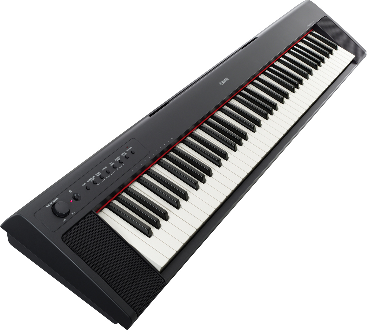 Yamaha np 31 piaggero 6 octave keyboard 76 key touch for Www yamaha keyboards