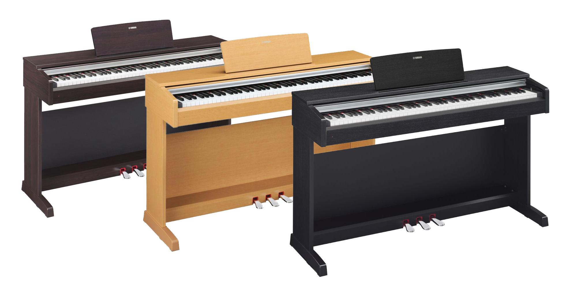 yamaha arius ydp 142 digital pianos various finishes. Black Bedroom Furniture Sets. Home Design Ideas