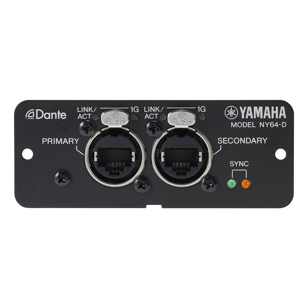 Yamaha ny64 d dante expansion card for tf series mixers for Yamaha dante card