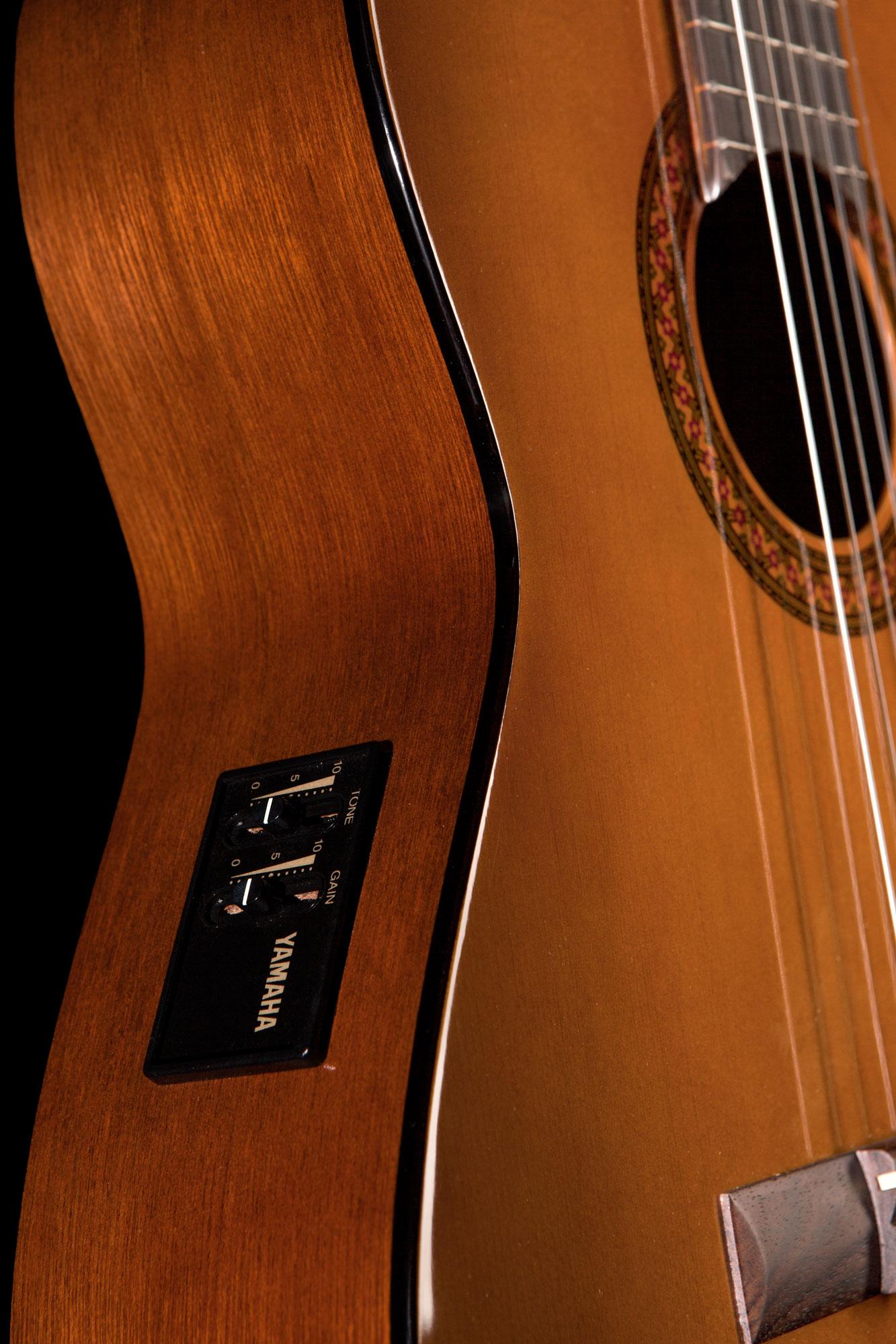 Yamaha Cx40 Mark Ii Electro Classical Guitar Yamaha