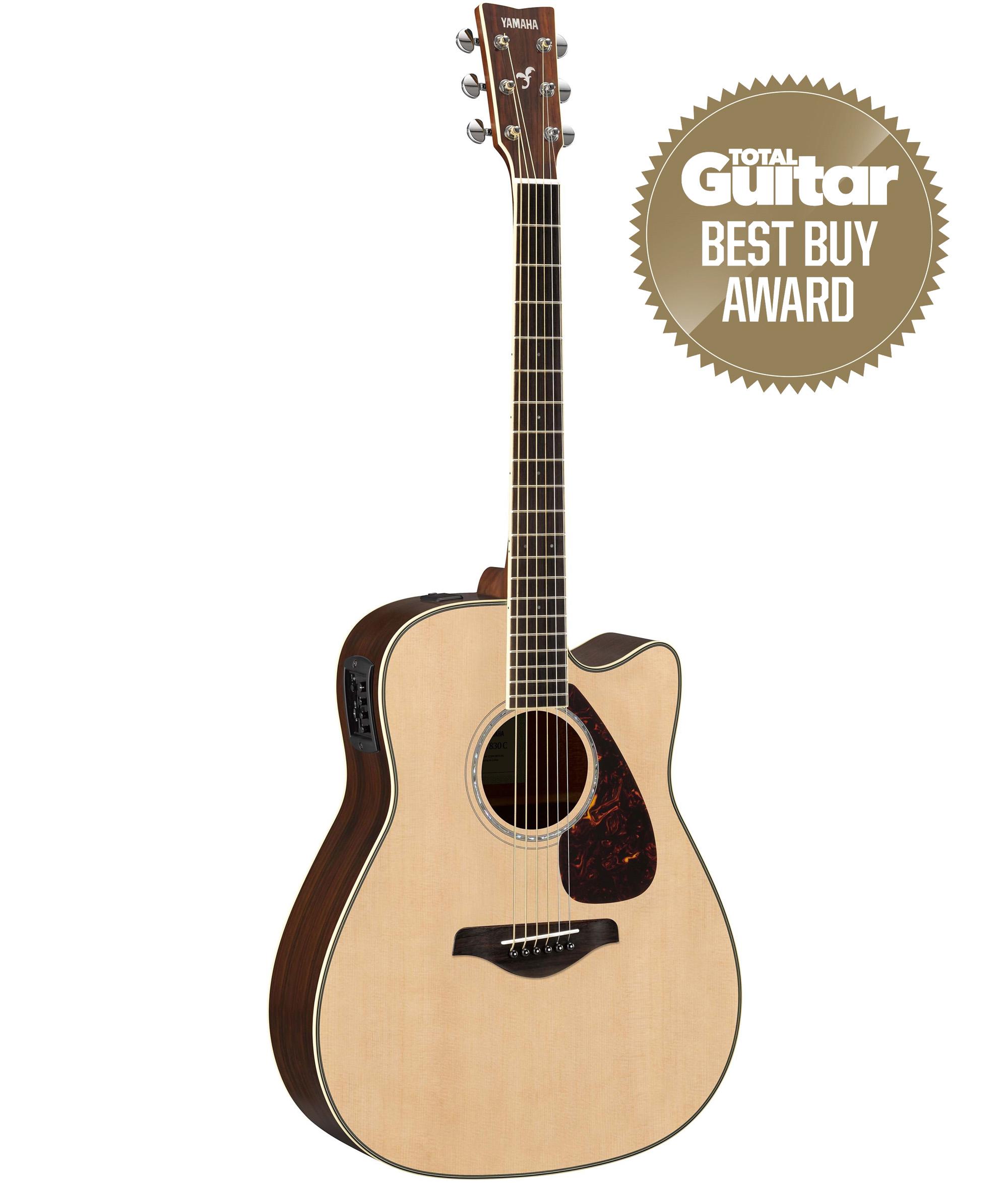 Yamaha fgx830c electro acoustic guitar natural finish for Yamaha fg830 specs