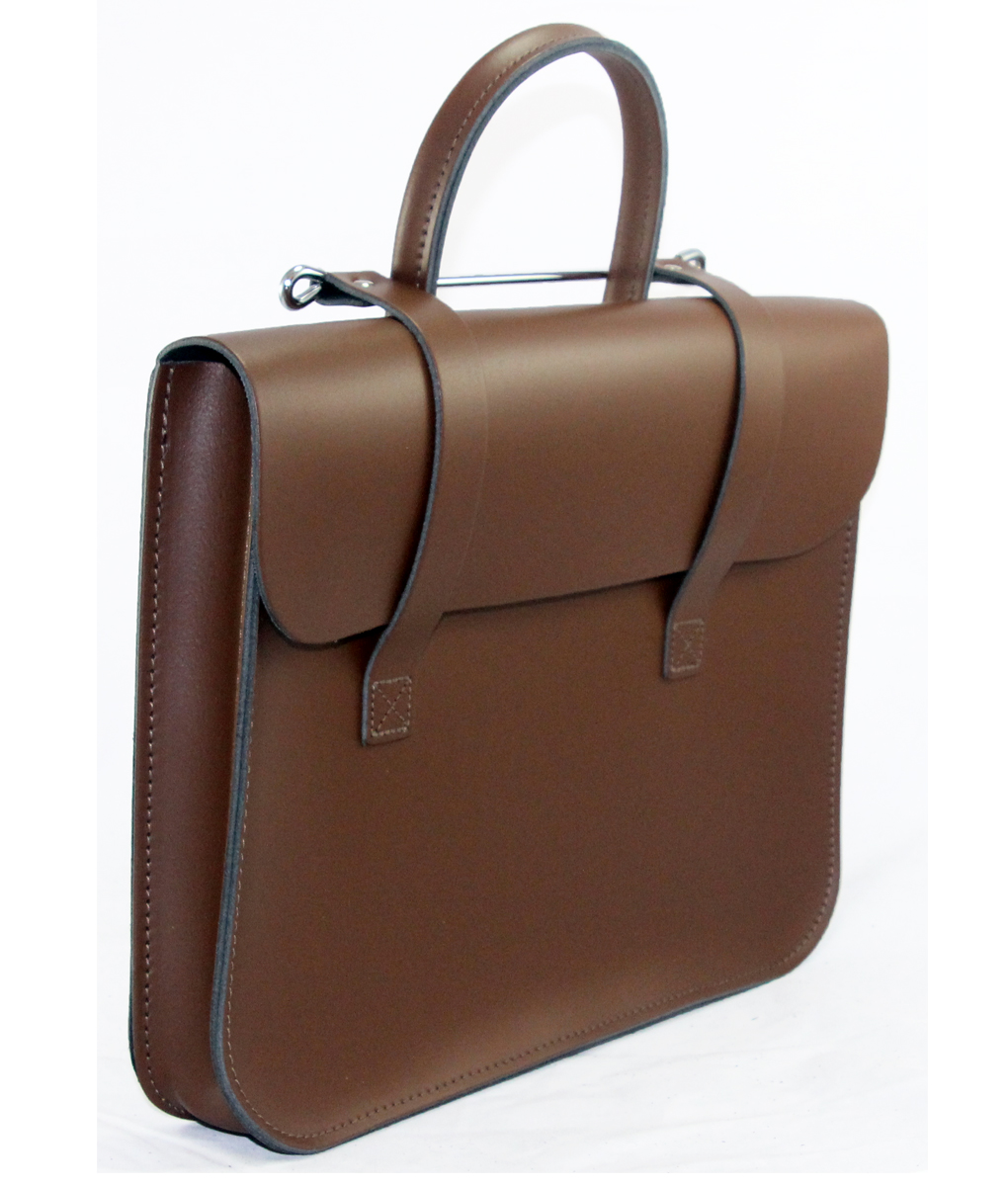 Leathergraft The Original Leather Music Case Brown Finish